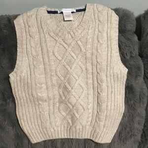 Janie and Jack sweater vest size 3